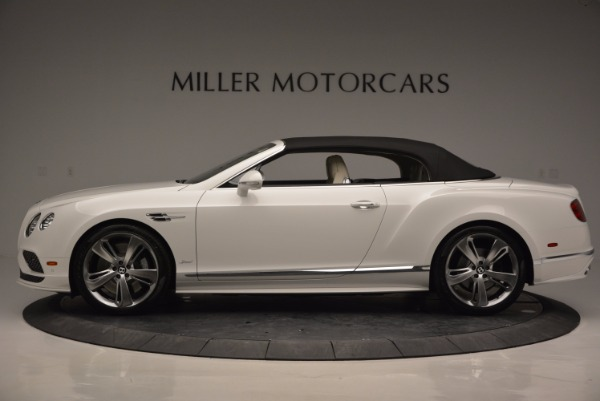 New 2017 Bentley Continental GT Speed Convertible for sale Sold at Pagani of Greenwich in Greenwich CT 06830 15