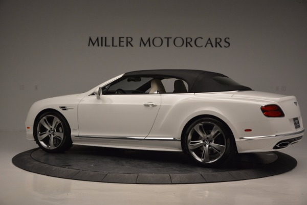 New 2017 Bentley Continental GT Speed Convertible for sale Sold at Pagani of Greenwich in Greenwich CT 06830 16