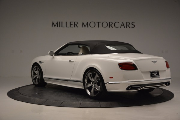 New 2017 Bentley Continental GT Speed Convertible for sale Sold at Pagani of Greenwich in Greenwich CT 06830 17