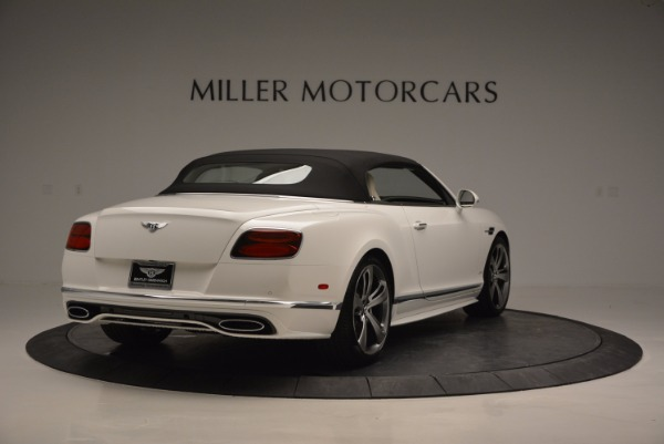 New 2017 Bentley Continental GT Speed Convertible for sale Sold at Pagani of Greenwich in Greenwich CT 06830 19