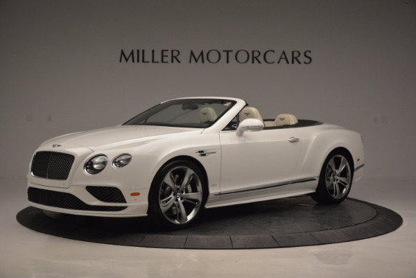 New 2017 Bentley Continental GT Speed Convertible for sale Sold at Pagani of Greenwich in Greenwich CT 06830 2