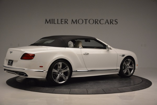 New 2017 Bentley Continental GT Speed Convertible for sale Sold at Pagani of Greenwich in Greenwich CT 06830 20