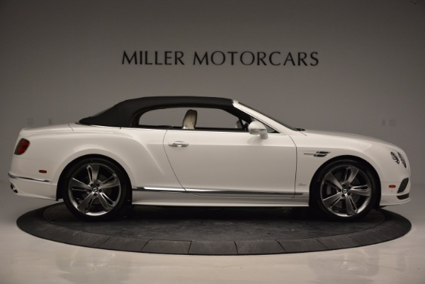 New 2017 Bentley Continental GT Speed Convertible for sale Sold at Pagani of Greenwich in Greenwich CT 06830 21