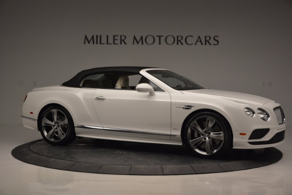 New 2017 Bentley Continental GT Speed Convertible for sale Sold at Pagani of Greenwich in Greenwich CT 06830 22