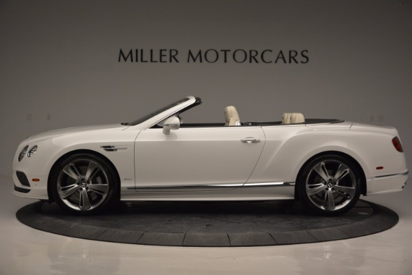 New 2017 Bentley Continental GT Speed Convertible for sale Sold at Pagani of Greenwich in Greenwich CT 06830 3
