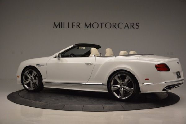 New 2017 Bentley Continental GT Speed Convertible for sale Sold at Pagani of Greenwich in Greenwich CT 06830 4