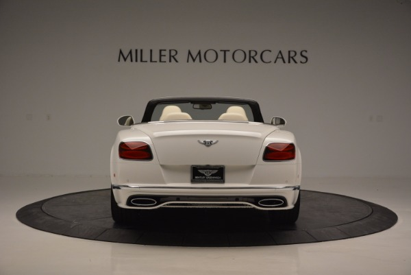 New 2017 Bentley Continental GT Speed Convertible for sale Sold at Pagani of Greenwich in Greenwich CT 06830 6