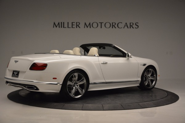 New 2017 Bentley Continental GT Speed Convertible for sale Sold at Pagani of Greenwich in Greenwich CT 06830 8