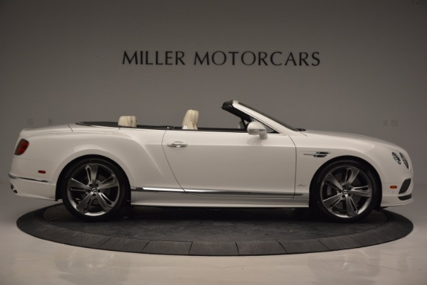 New 2017 Bentley Continental GT Speed Convertible for sale Sold at Pagani of Greenwich in Greenwich CT 06830 9
