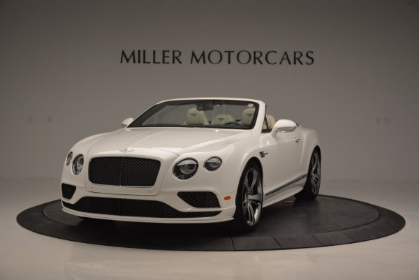 New 2017 Bentley Continental GT Speed Convertible for sale Sold at Pagani of Greenwich in Greenwich CT 06830 1