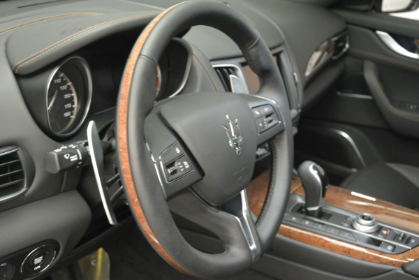 Used 2017 Maserati Levante S Ex Service Loaner for sale Sold at Pagani of Greenwich in Greenwich CT 06830 19