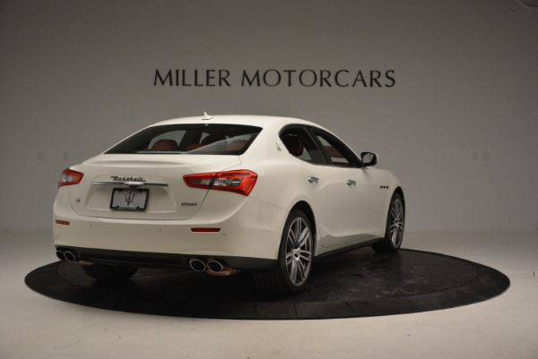 Used 2017 Maserati Ghibli S Q4 for sale $49,900 at Pagani of Greenwich in Greenwich CT 06830 7