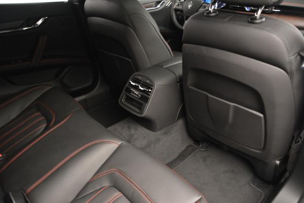 New 2017 Maserati Quattroporte S Q4 GranLusso for sale Sold at Pagani of Greenwich in Greenwich CT 06830 23