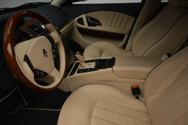 Used 2010 Maserati Quattroporte S for sale Sold at Pagani of Greenwich in Greenwich CT 06830 14