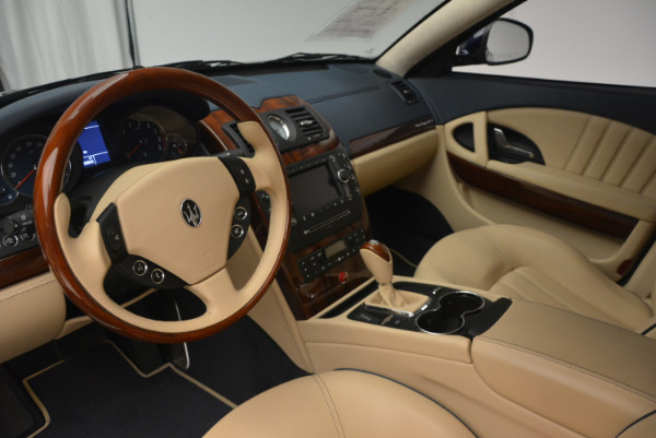Used 2010 Maserati Quattroporte S for sale Sold at Pagani of Greenwich in Greenwich CT 06830 15
