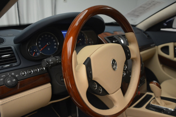 Used 2010 Maserati Quattroporte S for sale Sold at Pagani of Greenwich in Greenwich CT 06830 16
