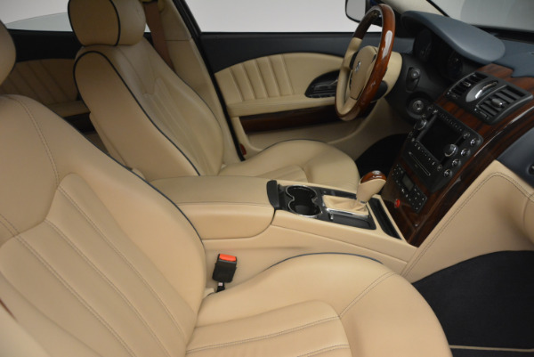 Used 2010 Maserati Quattroporte S for sale Sold at Pagani of Greenwich in Greenwich CT 06830 18