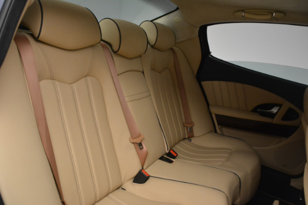 Used 2010 Maserati Quattroporte S for sale Sold at Pagani of Greenwich in Greenwich CT 06830 20