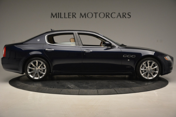 Used 2010 Maserati Quattroporte S for sale Sold at Pagani of Greenwich in Greenwich CT 06830 9