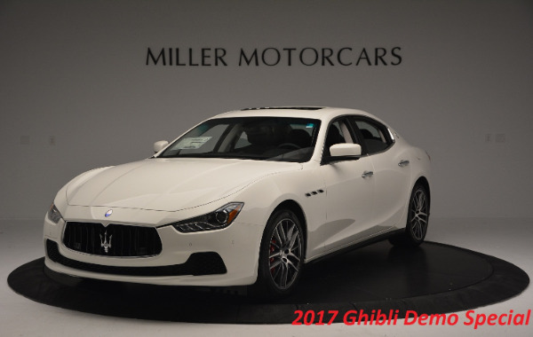 Used 2017 Maserati Ghibli S Q4 for sale Sold at Pagani of Greenwich in Greenwich CT 06830 2
