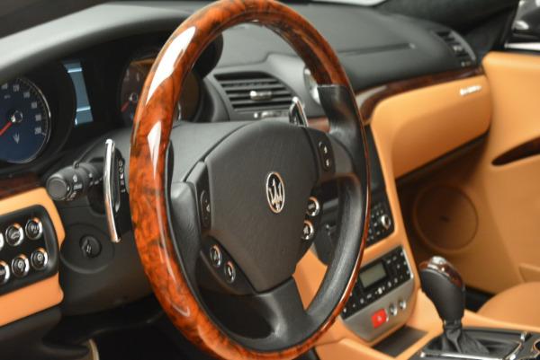 Used 2011 Maserati GranTurismo for sale Sold at Pagani of Greenwich in Greenwich CT 06830 16