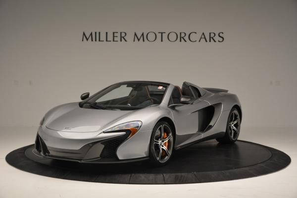 Used 2016 McLaren 650S SPIDER Convertible for sale Sold at Pagani of Greenwich in Greenwich CT 06830 2