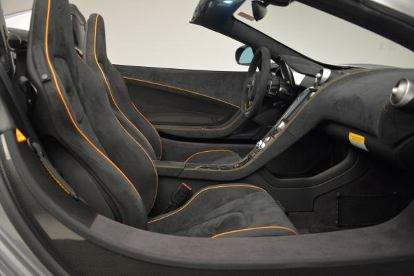 Used 2016 McLaren 650S SPIDER Convertible for sale Sold at Pagani of Greenwich in Greenwich CT 06830 27