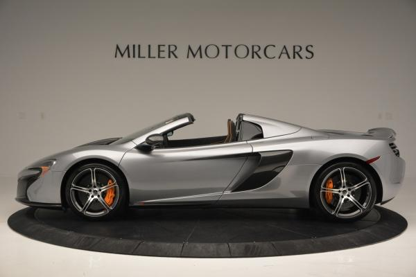 Used 2016 McLaren 650S SPIDER Convertible for sale Sold at Pagani of Greenwich in Greenwich CT 06830 3