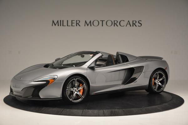 Used 2016 McLaren 650S SPIDER Convertible for sale Sold at Pagani of Greenwich in Greenwich CT 06830 1