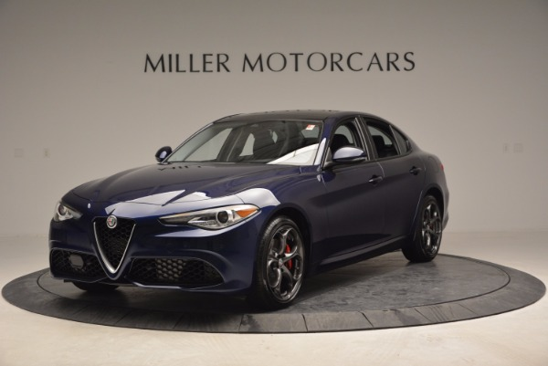 New 2017 Alfa Romeo Giulia Ti for sale Sold at Pagani of Greenwich in Greenwich CT 06830 1