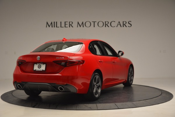 New 2017 Alfa Romeo Giulia for sale Sold at Pagani of Greenwich in Greenwich CT 06830 7