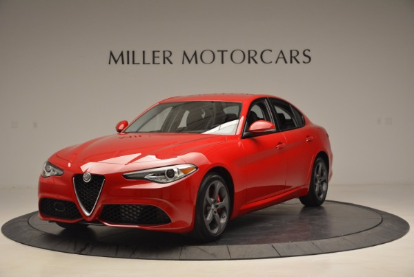 New 2017 Alfa Romeo Giulia for sale Sold at Pagani of Greenwich in Greenwich CT 06830 1