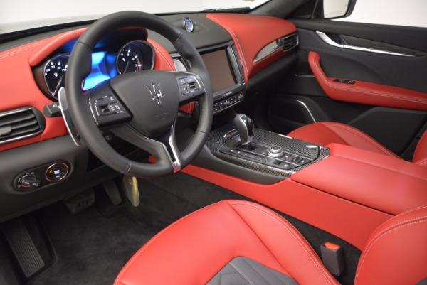New 2017 Maserati Levante S Zegna Edition for sale Sold at Pagani of Greenwich in Greenwich CT 06830 13
