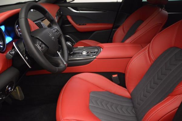 New 2017 Maserati Levante S Zegna Edition for sale Sold at Pagani of Greenwich in Greenwich CT 06830 14