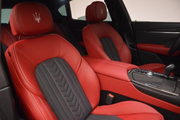 New 2017 Maserati Levante S Zegna Edition for sale Sold at Pagani of Greenwich in Greenwich CT 06830 25