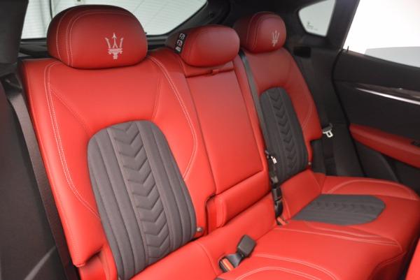 New 2017 Maserati Levante S Zegna Edition for sale Sold at Pagani of Greenwich in Greenwich CT 06830 26