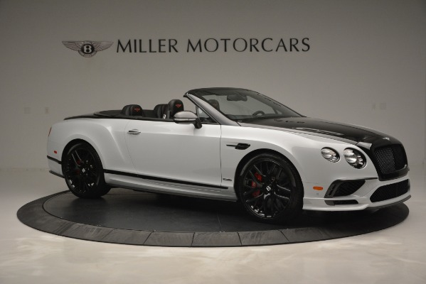 New 2018 Bentley Continental GT Supersports Convertible for sale Sold at Pagani of Greenwich in Greenwich CT 06830 10
