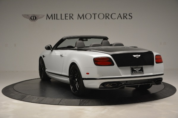 New 2018 Bentley Continental GT Supersports Convertible for sale Sold at Pagani of Greenwich in Greenwich CT 06830 5