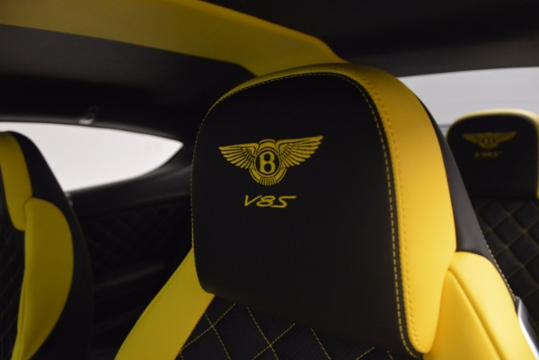 New 2017 Bentley Continental GT V8 S for sale Sold at Pagani of Greenwich in Greenwich CT 06830 27