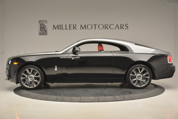 Used 2017 Rolls-Royce Wraith for sale Call for price at Pagani of Greenwich in Greenwich CT 06830 3