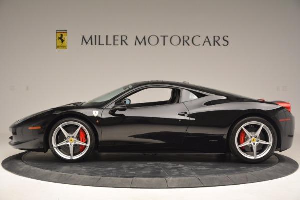 Used 2013 Ferrari 458 Italia for sale Sold at Pagani of Greenwich in Greenwich CT 06830 3