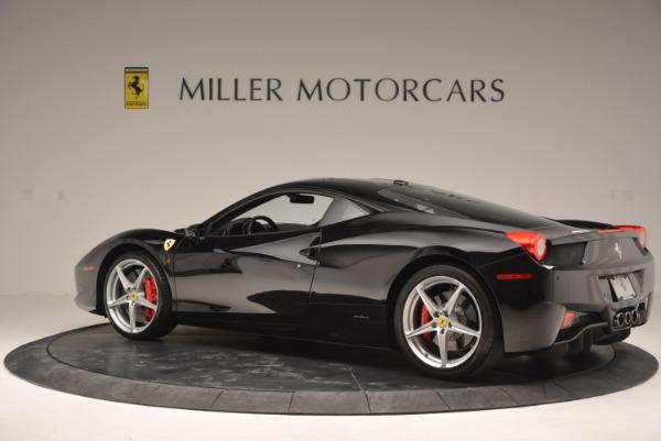 Used 2013 Ferrari 458 Italia for sale Sold at Pagani of Greenwich in Greenwich CT 06830 4