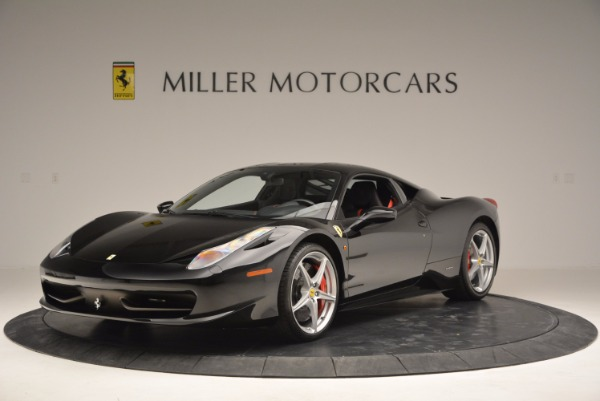 Used 2013 Ferrari 458 Italia for sale Sold at Pagani of Greenwich in Greenwich CT 06830 1