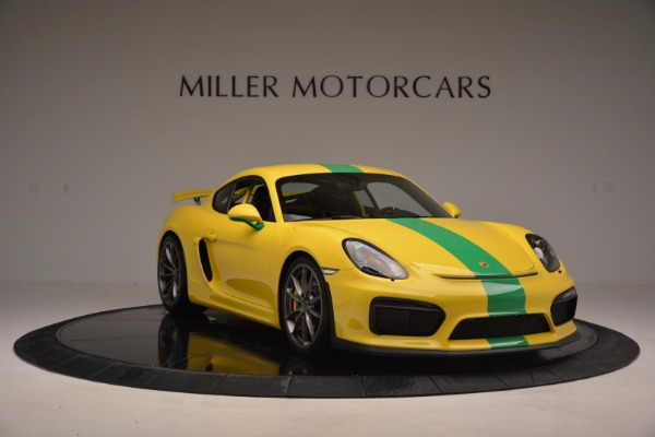 Used 2016 Porsche Cayman GT4 for sale Sold at Pagani of Greenwich in Greenwich CT 06830 11