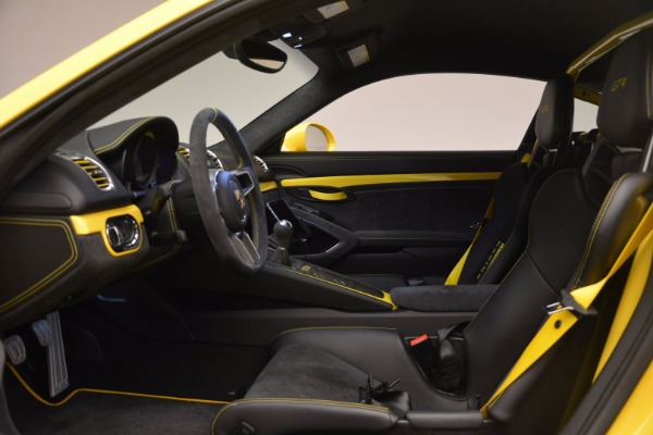 Used 2016 Porsche Cayman GT4 for sale Sold at Pagani of Greenwich in Greenwich CT 06830 14