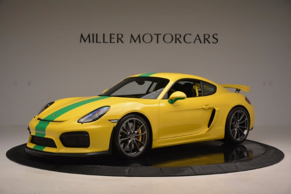 Used 2016 Porsche Cayman GT4 for sale Sold at Pagani of Greenwich in Greenwich CT 06830 2