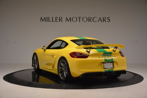 Used 2016 Porsche Cayman GT4 for sale Sold at Pagani of Greenwich in Greenwich CT 06830 5