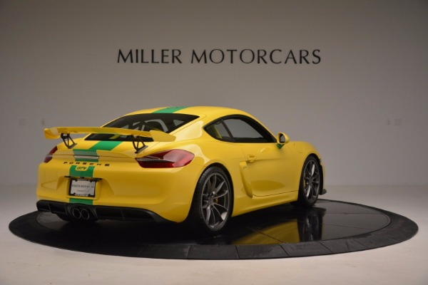 Used 2016 Porsche Cayman GT4 for sale Sold at Pagani of Greenwich in Greenwich CT 06830 7