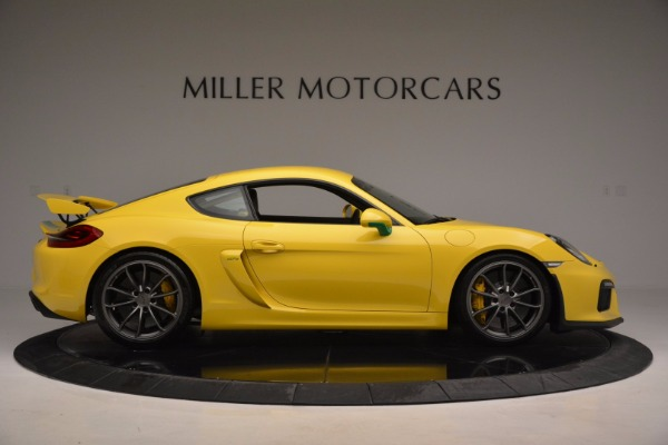 Used 2016 Porsche Cayman GT4 for sale Sold at Pagani of Greenwich in Greenwich CT 06830 9