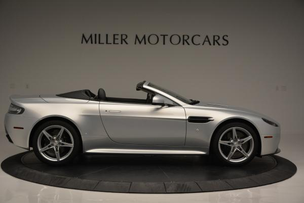 New 2016 Aston Martin V8 Vantage GTS Roadster for sale Sold at Pagani of Greenwich in Greenwich CT 06830 9